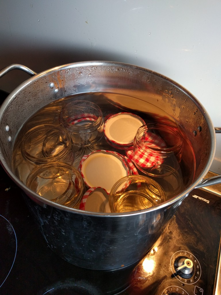 Always sterilize your jars and lids.