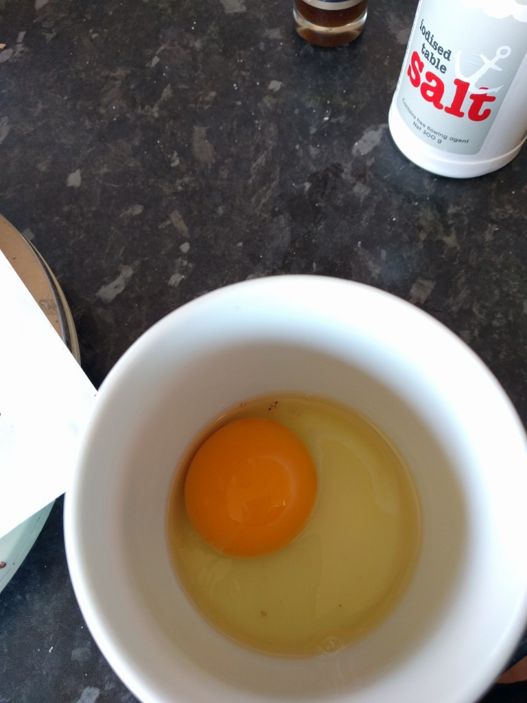 Always crack your egg into a separate container first.